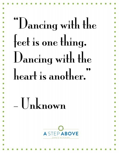 The Best Inspirational Dance Quotes A Step Above Dance Academy Stunning Inspirational Dance Quotes
