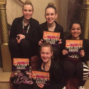 A Step Above Batavia wins at Rainbow National Dance Competition – Regionals 2016 Genesee Theater, Waukegan IL